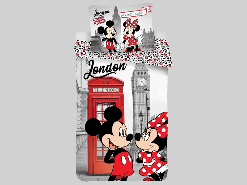 Obliečky MINNIE in LONDON